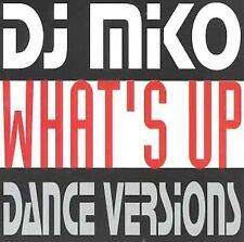 What's Up [Single] by DJ Miko (CD, Oct-2005, ZYX Music) Disc Only-Free Shipping
