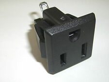 Panel Mount Receptacle 15A 120V Nema 5-15R Great For Projects! 110v (Lot of 100)