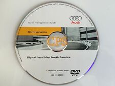 Ver. 2009 Update for 2008 AUDI A5 - S5 MMI Navigation DVD disc map 4E0919884BK