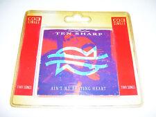 "TEN SHARP - AIN'T MY BEATING HEART 3"" maxi cd 2tr. 1991"