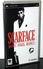 SCARFACE MONEY POWER RESPECT GIOCO USATO IN OTTIMO STATO SONY PSP ED ITA 29851