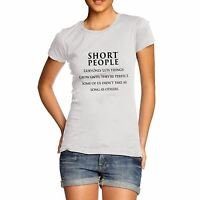Twisted Envy Women's Short People Funny T-Shirt