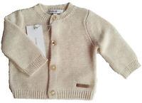 Strick Jacke Gr.44 Noppies NEU 100% Baumwolle beige baby newborn frühchen