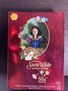NIB Barbie Disney's Snow White and the Seven Dwarfs Signature Collection #17761