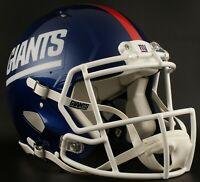NEW YORK GIANTS Color Rush NFL Riddell SPEED Full Size Replica Football Helmet