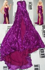 Lana Signed WWE Ring Worn Used Dress Gown BAS Beckett COA Total Divas Autograph