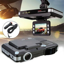 2 in1 Auto DVR Radar Dash Cam Laser Video Speed Detector/GPS Car Camera Record