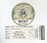 Grateful Dead Soldier Field Chicago, Il 4th Of July 50th Ann Sticky Pass+Ticket