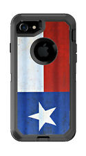 Skin Decal Wrap for OtterBox Defender iPhone 8 Case Texas State Flag Lone Star