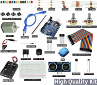 Arduino UNO R3 Starter Professional Level Basic Kit for small Projects