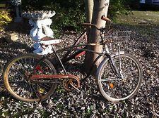 JC Higgins Bike Vintage Cobra Garden Art Metal wire Flower basket
