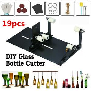 Glass Bottle Wine Glass Cutter Machine Jar Tool DIY Art Handmade Cutting Kit UK