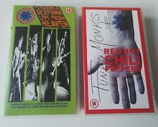 RARE RED HOT CHILLI PEPPERS VHS VIDEOS FUNKY MONKS & PSYCHEDELIC SEXFUNK LIVE