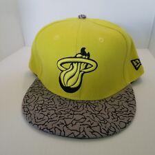 b0e1309a62d New Era Fits Hardwood Classics NBA Miami Heat Baseball Cap Adjustable HWC