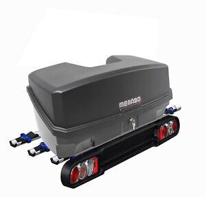 Race 3 Kupplungsträger Heckträger 3Räder klappbar QuickStop + Nekkar Gepäckbox