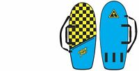 Catch Surf Checkered Black/Yellow Board Bag - Beater Board Bag - New