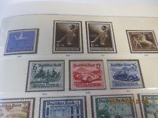 Deutsches Reich Sammlung 1933-1945 ** postfrisch ab 1939 komplett inkl. Dienst