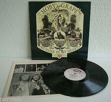 Moby Grape   Murder In My Heart   Edsel 1986   Near Mint / Very Good+   Vinyl