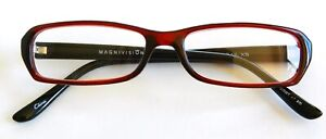 foster grant reading glasses Gail Burgundy +2.00 With Free Soft Case