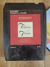 Vintage 8 Track Tape Ferrante & Teicher Supermen 1978 Liberty Ua-Ea941-H Tested