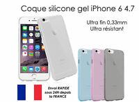 coque étuis housse silicone gel souple transparent pour iPhone 6 4.7