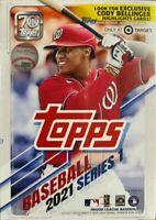 2021 Topps Series 1 Baseball 7-Pack Blaster Box - 99 Cards Factory Sealed