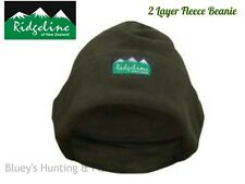 Ridgeline Hunting  classic Olive Double Layer micro Fleece Beanie