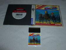 JAPANESE IMPORT PC ENGINE HU CARD GAME WORLD HORSE JOCKEY COMPLETE TURBO DUO >>