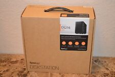 New Synology DiskStation DS216 3TB NAS Server WD Surveillance Purple Drive Hard