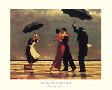 Jack Vettriano The singing Butler singender Butler Poster Kunstdruck Bild