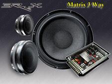 BRAX MATRIX 3 WAY HIGH END COMPONENT SPEAKER SYSTEM