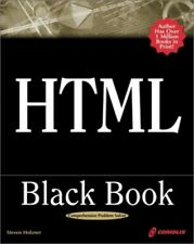 HTML Black Book (Little Black Book) by Holzner, Steven Mixed media product Book