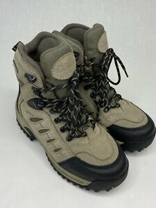 Cabelas Thinsulate Hiking Boots Women 6 D Winter Dry Plus Grey Snow 83-0534 Shoe