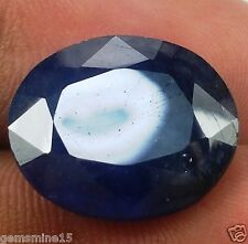 11.05 CT AFRICAN Blue Sapphire Natural IGLI CERTIFIED AWESOME Quality Gemstone