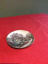 Chandler's Cottage by Thomas Kinkade Mini Plate 1st Issue 1996
