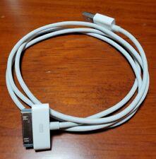 Genuine Original Apple iPad iPod iPhone USB Cable Charging Cord 30 Pins iPad 2 3