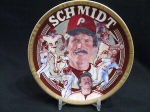 "1993 Sports Impressions Mike Schmidt Baseballs Greatest 3rd Baseman"" MLB 4"" Plat"