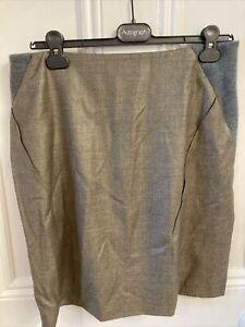 Pringle Virgin Wool Skirt Size 14 BNWT Silk Lining