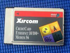 More details for xircom cem56-100 creditcard ethernet 10/100 modem 56 with plastic case