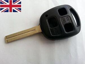 3 BUTTON KEY FOB CASE for LEXUS RX400H SC430, RX300 IS200/300 GS300 short Blade