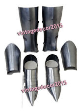 Medieval King Spartan Armor Shoes With Leg Guard & Arm Guard