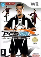 Pro Evolution Soccer 2008 Wii (Nintendo Wii) - Free Postage - UK Seller