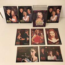 BUFFY THE VAMPIRE SLAYER SEASON 3 (1999) Complete Card Set w/ 3 DIFF PROMO CARDS