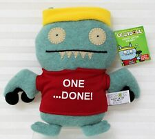 NEW  Heavy Lifter Ice-Bat Ugly Doll Barbells Sweat Band Red Sweats 10 inch