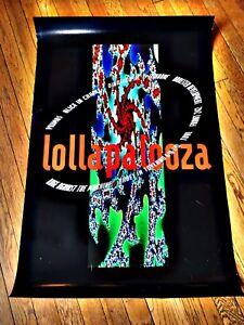 Original Lollapalooza 1993  Concert Poster MINT!!