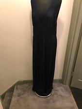 Tufi Duek Navy Beach Maxi Dress Size XS Please Read Description