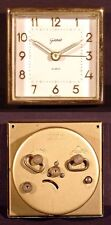VINTAGE GILBERT TRAVEL ALARM CLOCK MOVEMENT, WEST GERMANY