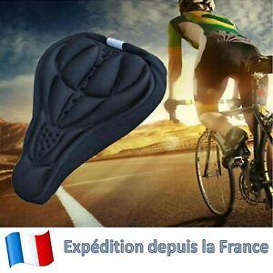 Housse de selle de vélo épaisse Anti choc Confortable Gel silicone Ergonomique