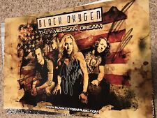Black Oxygen Signed The American Dream Music Poster