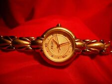 RELIC WATCH LADIES TWO TONE QUARTZ SECOND HAND SERVICED NICE WATCH READY TO GO !